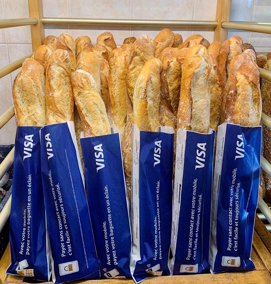 Autocrea sac à pain publicitaire