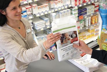 Sachet à pharmacie publicitaire Nord France