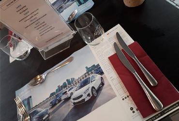 Set de table publicitaire Suisse