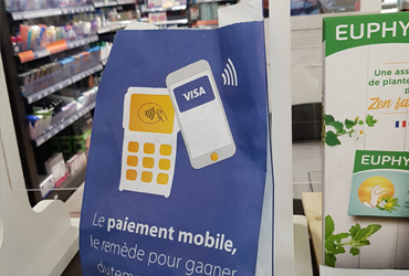 Sachet pharmacie publicitaire visa