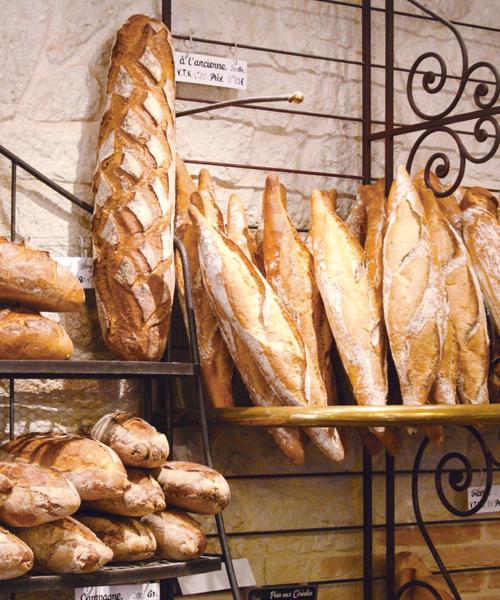 Boulangerie étui à baguette publicitaire